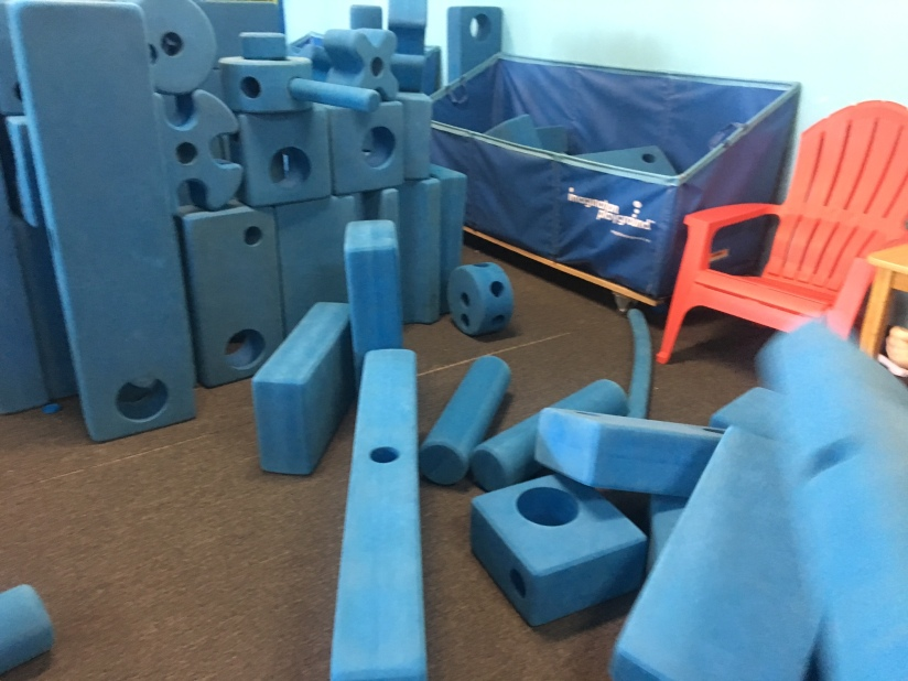 build a play space