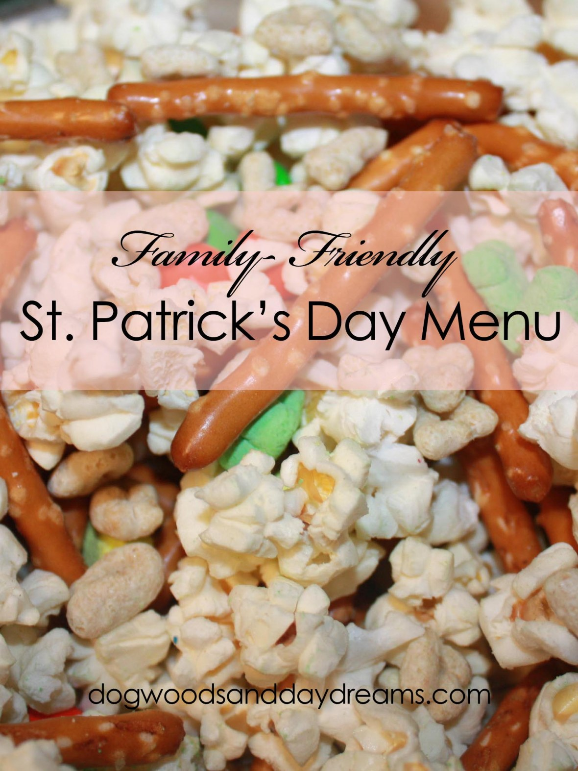 Simple St. Patrick's Day Menu copy